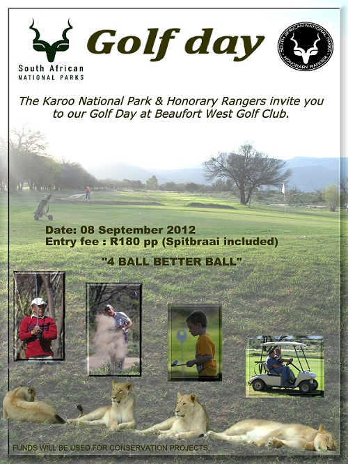Karoo Golf Day poster