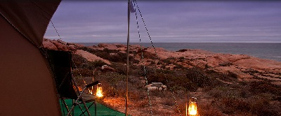 View at Namaqua Flowers Beach Camp