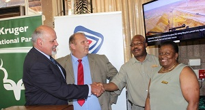 Anglo American hands-over monitors to SANParks