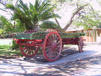 Restored Oxwagon
