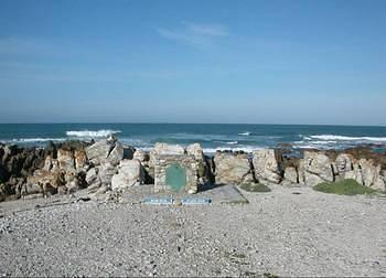 OVERBERG REGION (13) - CAIRN AT MOST SOUTHERN POINT OF AFRICA