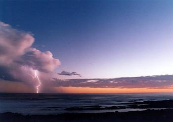 Electric Storm at Storms River Camp, Tsitsikamma