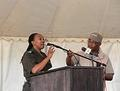 ME - Parks Dr Nomvuselelo Songwela did the opening and welcome at the World Ranger Day