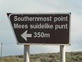 OVERBERG REGION (51) - WE ARE IN THE SOUTHERN MOST PARK ON AFRICA