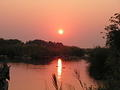 Sunrise on Sabie river