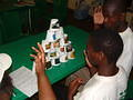 Deaf children build an ecological pyramid