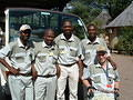 Skukuza guides did a great job with the disabled children - Skukuza Disability festival - 3rd Dec 2003