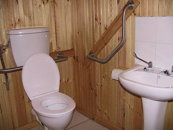 Accessible Toilet at Reception (Tsitsikamma - Storms River)