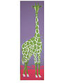 happy giraffe_green