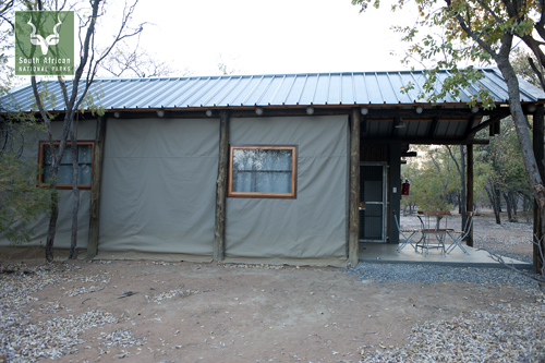 Safari Tents (ST2 and ST4) Exterior view